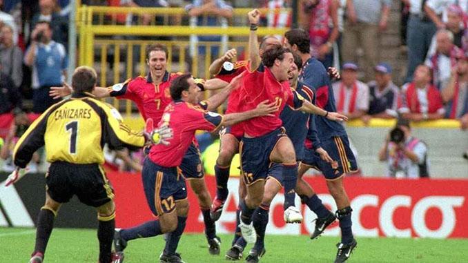 El gol de Alfonso a Yugoslavia desató la euforia entre los españoles - Odio Eterno Al Fútbol Moderno