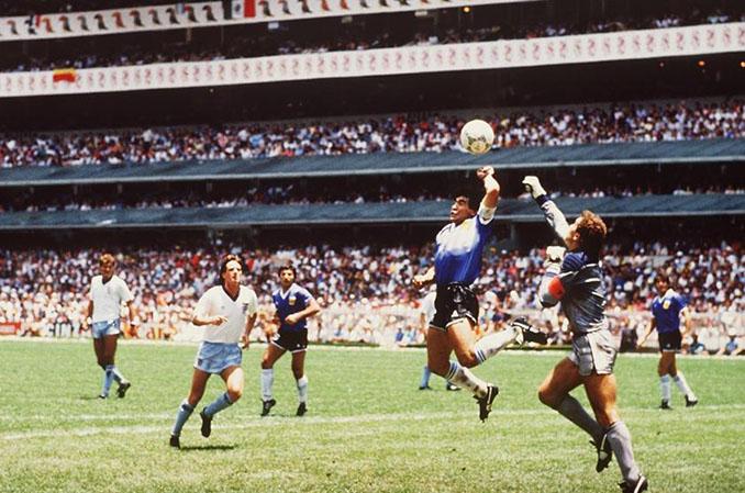 La mano de Dios - Odio Eterno Al Fútbol Moderno