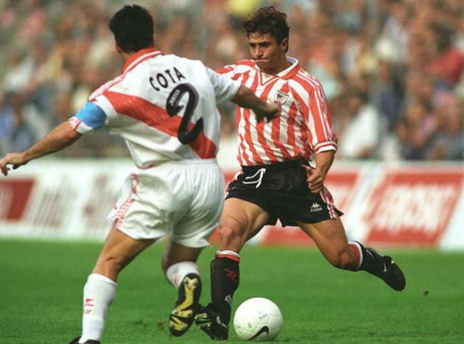 Bixente Lizarazu jugó en el Athletic Club durante una temporada - Odio Eterno Al Fútbol Moderno