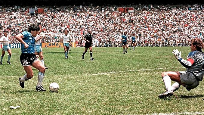 Maradona marcó el gol del siglo ante Inglaterra - Odio Eterno Al Fútbol Moderno