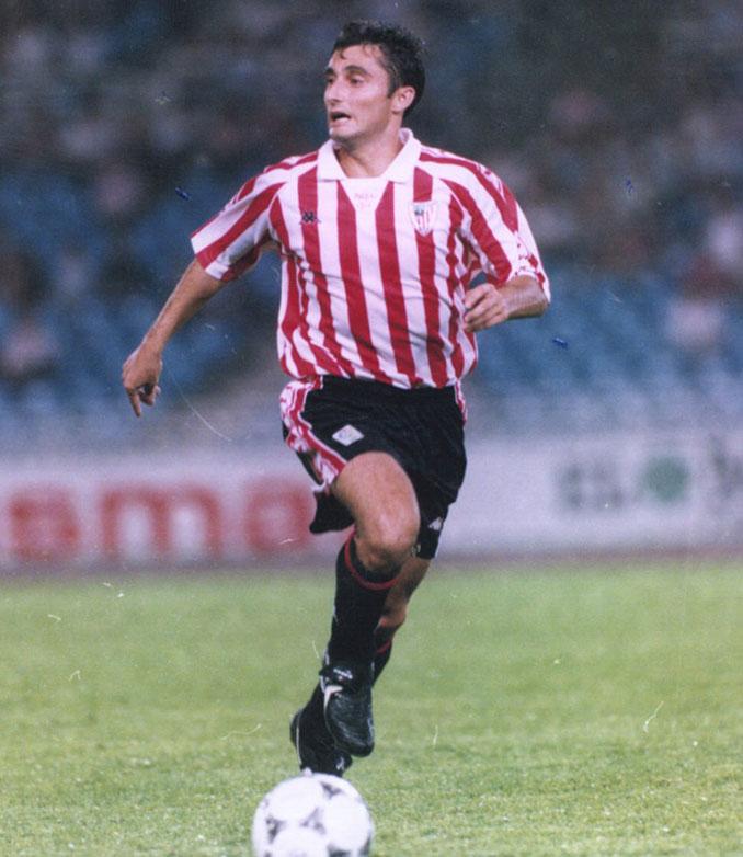 """El """"Txingurri"""" Valverde durante su etapa como jugador del Athletic Club - Odio Eterno Al Fútbol Moderno"""