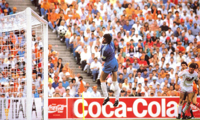 Gol de Van Basten a la URSS en la final e la Eurocopa '88 - Odio Eterno Al Fútbol Moderno