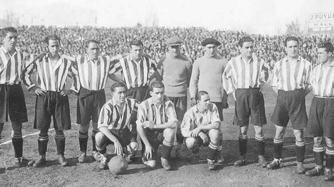 Plantilla del Athletic Club en la temporada 1930-1931 - Odio Eterno Al Fútbol Moderno
