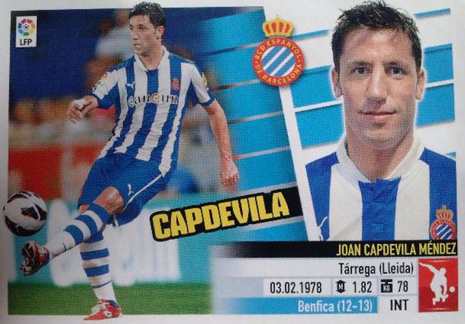 Cromo de Joan Capdevila - Odio Eterno Al Fútbol Moderno
