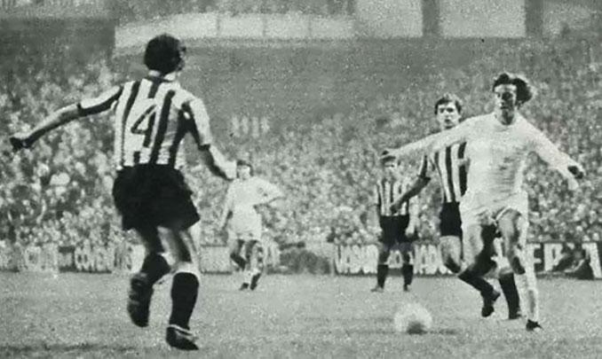 Athletic Club vs Real Madrid disputado en 1974 en medio de una epidemia de gripe - Odio Eterno Al Fútbol Moderno