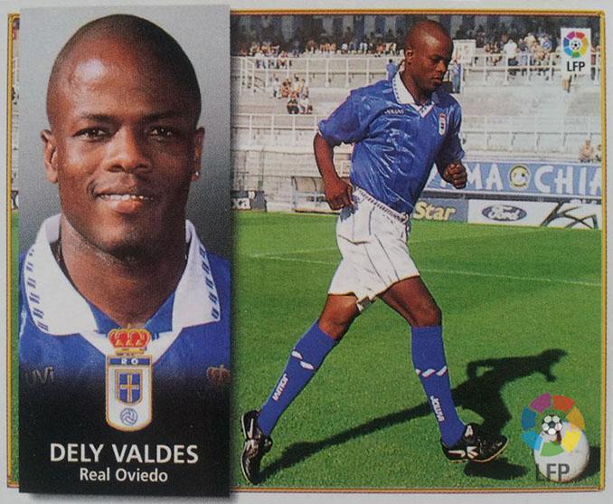 Cromo de Dely Valdés - Odio Eterno Al Fútbol Moderno