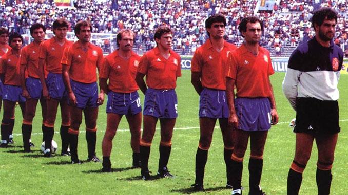 Selección española en el Mundial 1986 - Odio Eterno Al Fútbol Moderno