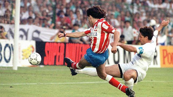 FutGol de Futre en la final de la Copa del Rey de 1992 - Odio Eterno Al Fútbol Moderno