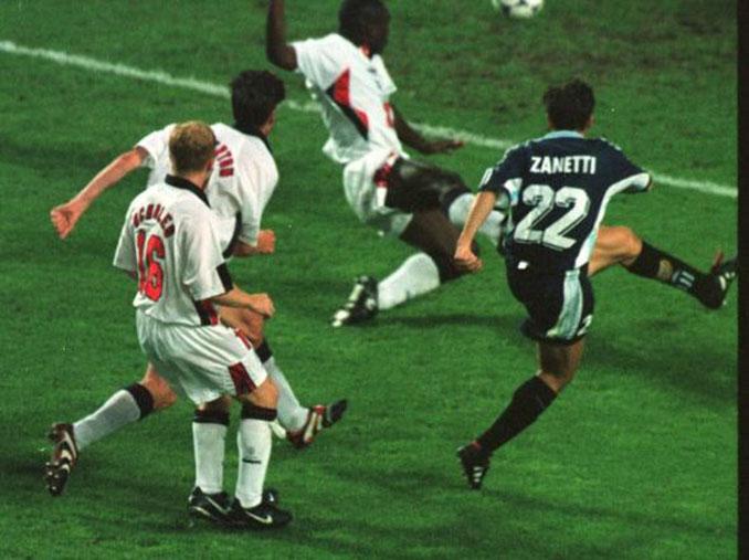 Zanetti puso el 2-2 en el Argentina vs Inglaterra del Mundial de 1998 - Odio Eterno Al Fútbol Moderno