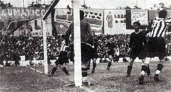 Uno de los 7 goles que Bata marcó al FC Barcelona en 1931 - Odio Eterno Al Fútbol Moderno