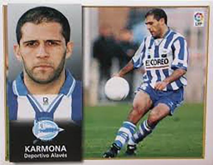 Cromo de Antonio Karmona - Odio Eterno Al Fútbol Moderno