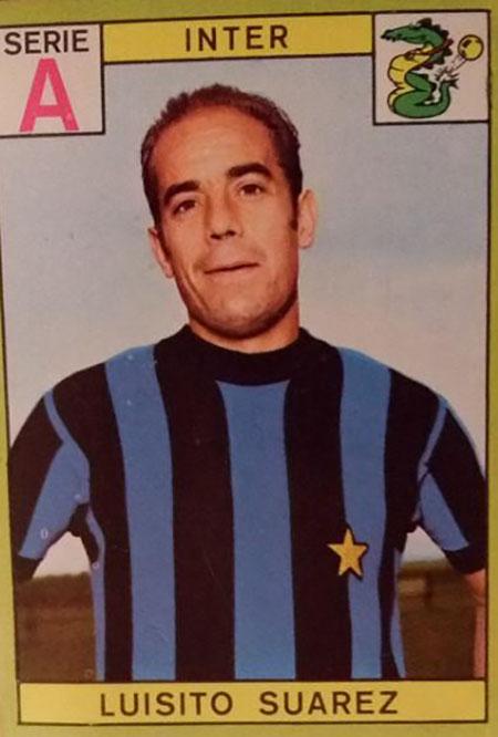 Cromo de Luis Suárez Miramontes - Odio Eterno Al Fútbol Moderno
