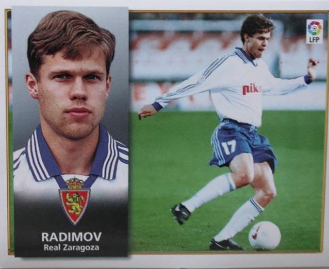 Cromo de Vladislav Radimov - Odio Eterno Al Fútbol Moderno