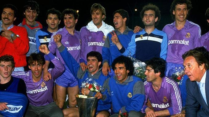 El Real Madrid conquistó su segunda Copa e la UEFA consecutiva en 1986 -Odio Eterno Al Fútbol Moderno