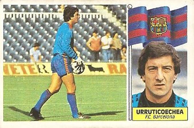 Cromo de Javier Urruticoechea - Odio Eterno Al Fútbol Moderno