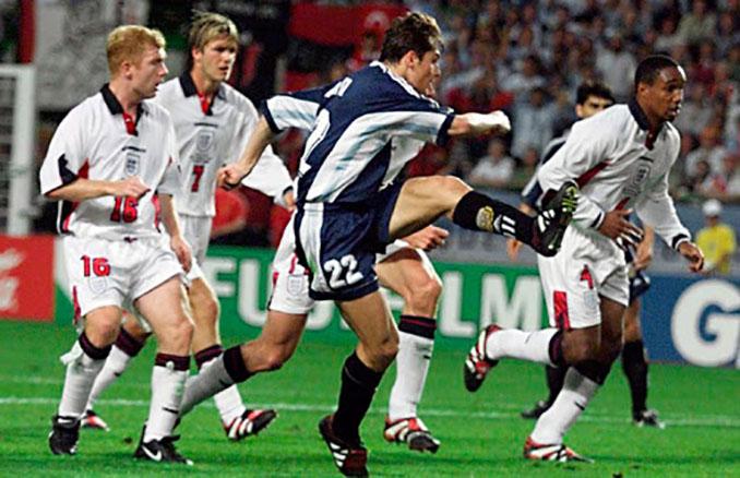 Sin saberlo Javier Zanetti con su gol a Inglaterra en 1998 salvó una vida - Odio Eterno Al Fútbol Moderno
