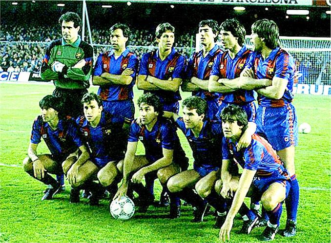 FC Barcelona en la campaña 86-87 - Odio Eterno Al Fútbol Moderno