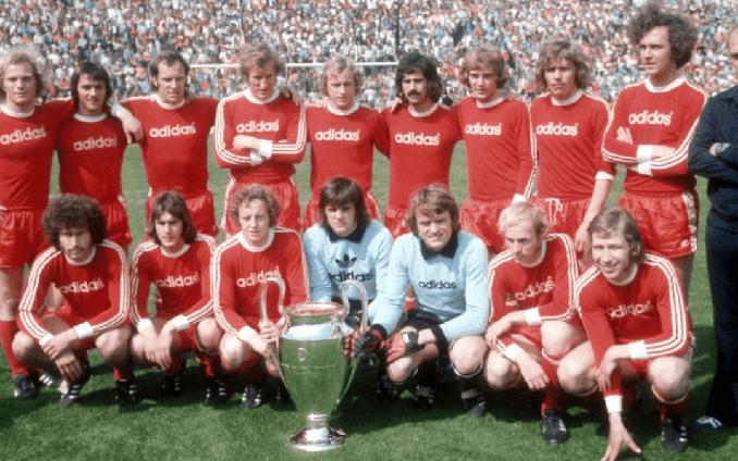Bayern de Munich campeón de la Copa de Europa en 1974 - Odio Eterno Al Fútbol Moderno