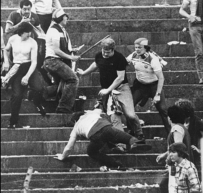 Hooligans ingleses en los años 70 - Odio Eterno Al Fútbol Moderno