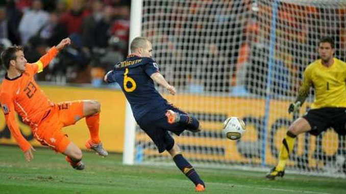 El gol de Iniesta. El gol de todos los españoles - Odio Eterno Al Fútbol Moderno