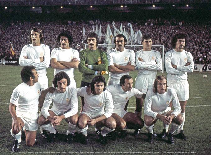 Real Madrid en 1975 - Odio Eterno Al Fútbol Moderno