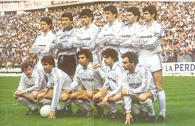 Real Madrid campeón de Liga 86-87. La Liga del play-off - Odio Eterno Al Fútbol Moderno