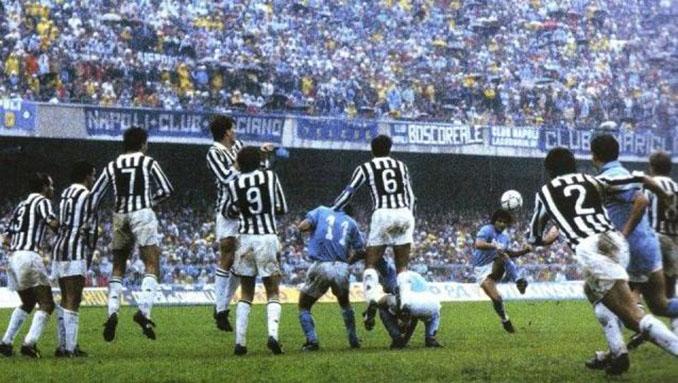 Gol de Maradona a la Juventus - Odio Eterno Al Fútbol Moderno