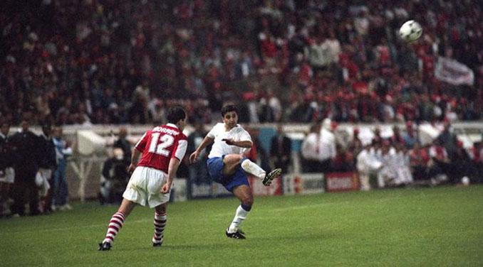 El gol de Nayim dio el primer título europeo al Real Zaragoza - Odio Eterno Al Fútbol Moderno