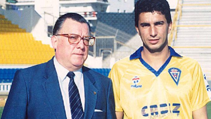 Pedro Manuel Irigoyen presidente del Cádiz CF en aquella época - Odio Eterno Al Fútbol Moderno
