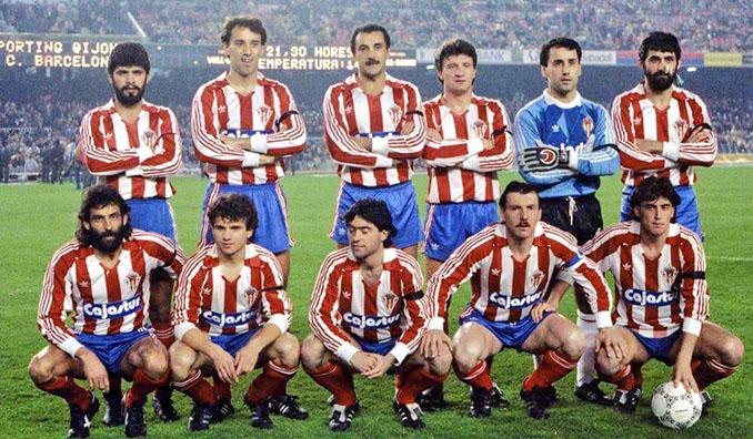 Sporting de Gijón en la temporada 1986-1987 - Odio Eterno Al Fútbol Moderno