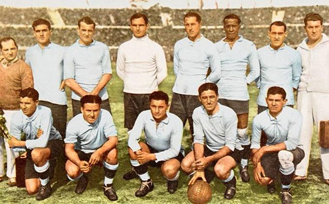 Selección de Uruguay en la final del Mundial 1930 - Odio Eterno Al Fútbol Moderno