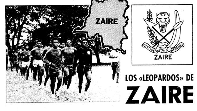Futbolista de Zaire entrenando para el Mundial 1974 - Odio Eterno Al Fútbol Moderno