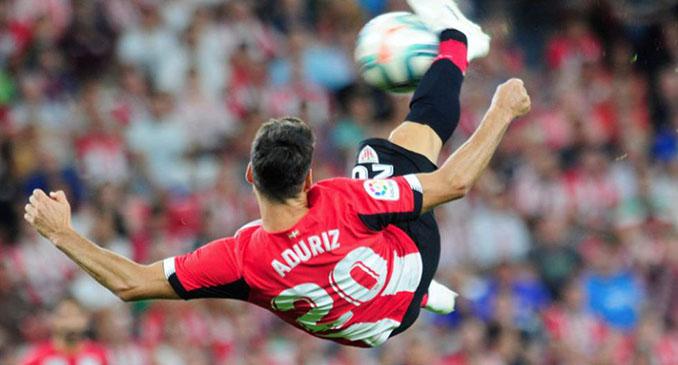 El gol de Aduriz al FC Barcelona es el más espectacular de su carrera - Odio Eterno Al Fútbol Moderno