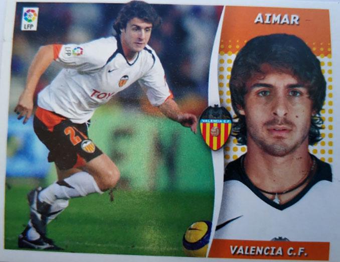 Cromo de Pablo Aimar - Odio Eterno Al Fútbol Moderno