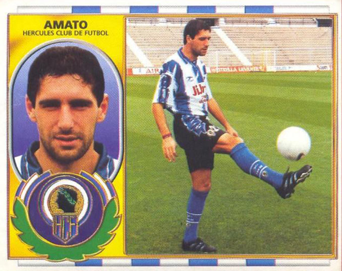 Cromo de Gaby Amato - Odio Eterno Al Fútbol Moderno