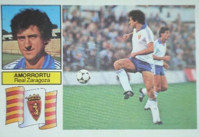 Cromo de José María Amorrortu - Odio Eterno Al Fútbol Moderno