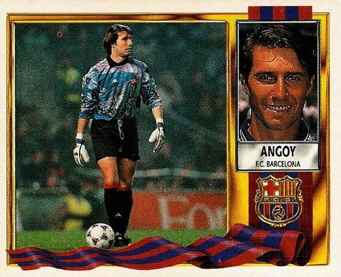 Cromo de Jesús Angoy - Odio Eterno Al Fútbol Moderno