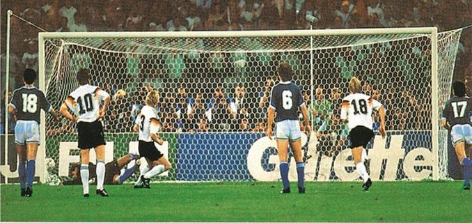 El gol de Brehme dio a Alemania su tercera Copa del Mundo - Odio Eterno Al Fútbol Moderno