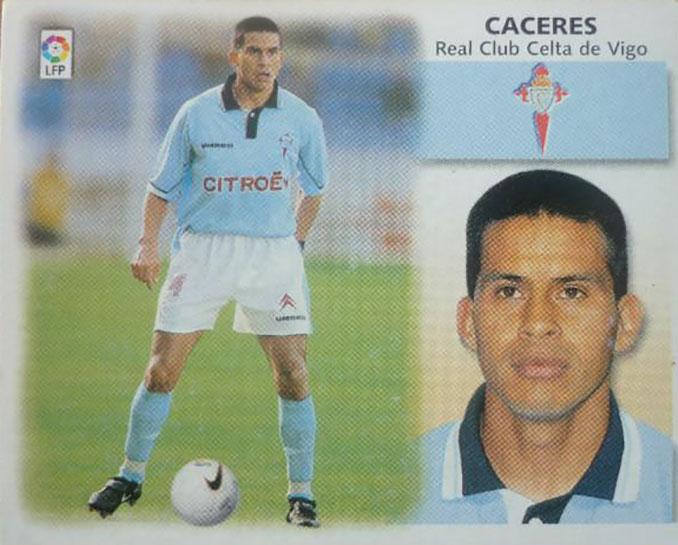 Cromo de Fernando Cáceres - Odio Eterno Al Fútbol Moderno