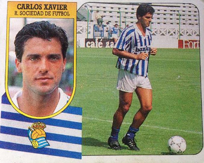 Cromo de Carlos Xavier - Odio Eterno Al Fútbol Moderno