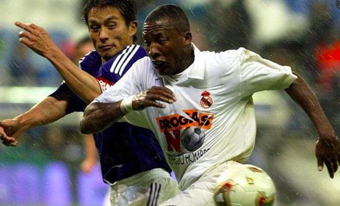 Edwin Congo marcó su único gol en el Bernabéu en el partido contra la droga - Odio Eterno Al Fútbol Moderno