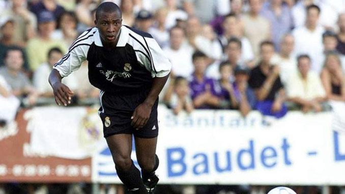 Edwin Congo en un partido con el Real Madrid - Odio Eterno Al Fútbol Moderno