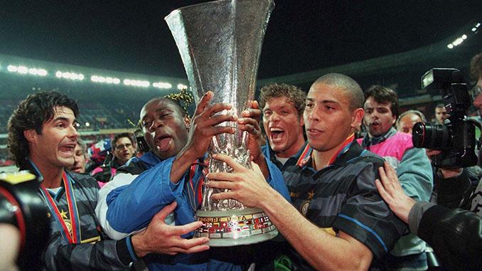 El Inter ganó 3 Copas de la UEFA en la década de los 90 - Odio Eterno Al Fútbol Moderno