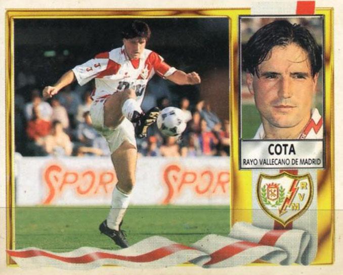 Cromo de Jesús Diego Cota - Odio Eterno Al Fútbol Moderno