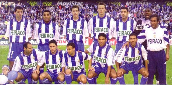 Once tipo del Deportivo de la Coruña en la temporada 1999-2000 - Odio Eterno Al Fútbol Moderno