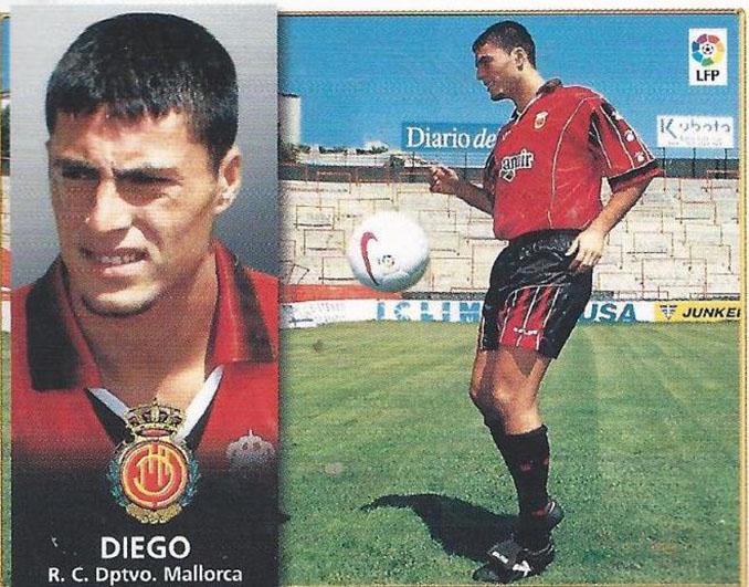 Cromo de Diego Tristán - Odio Eterno Al Fútbol Moderno