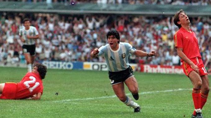 Diegol rebautizó el narrador a Maradona tras su golazo a Bélgica - Odio Eterno Al Fútbol Moderno