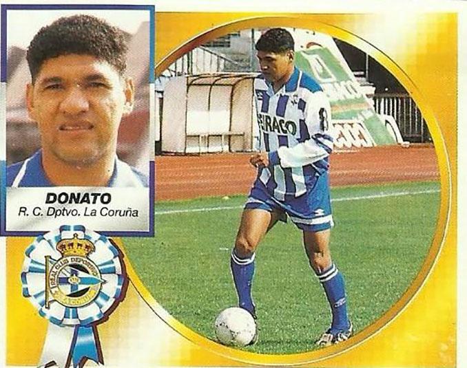 Cromo de Donato - Odio Eterno Al Fútbol Moderno
