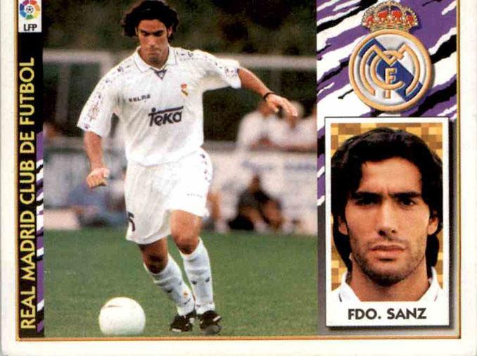 Cromo de Fernando Sanz - Odio Eterno Al Fútbol Moderno
