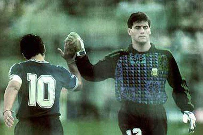 Goycoechea fue el héroe en al tanda de penaltis frente a Yugoslavia - Odio Eterno Al Fútbol Moderno